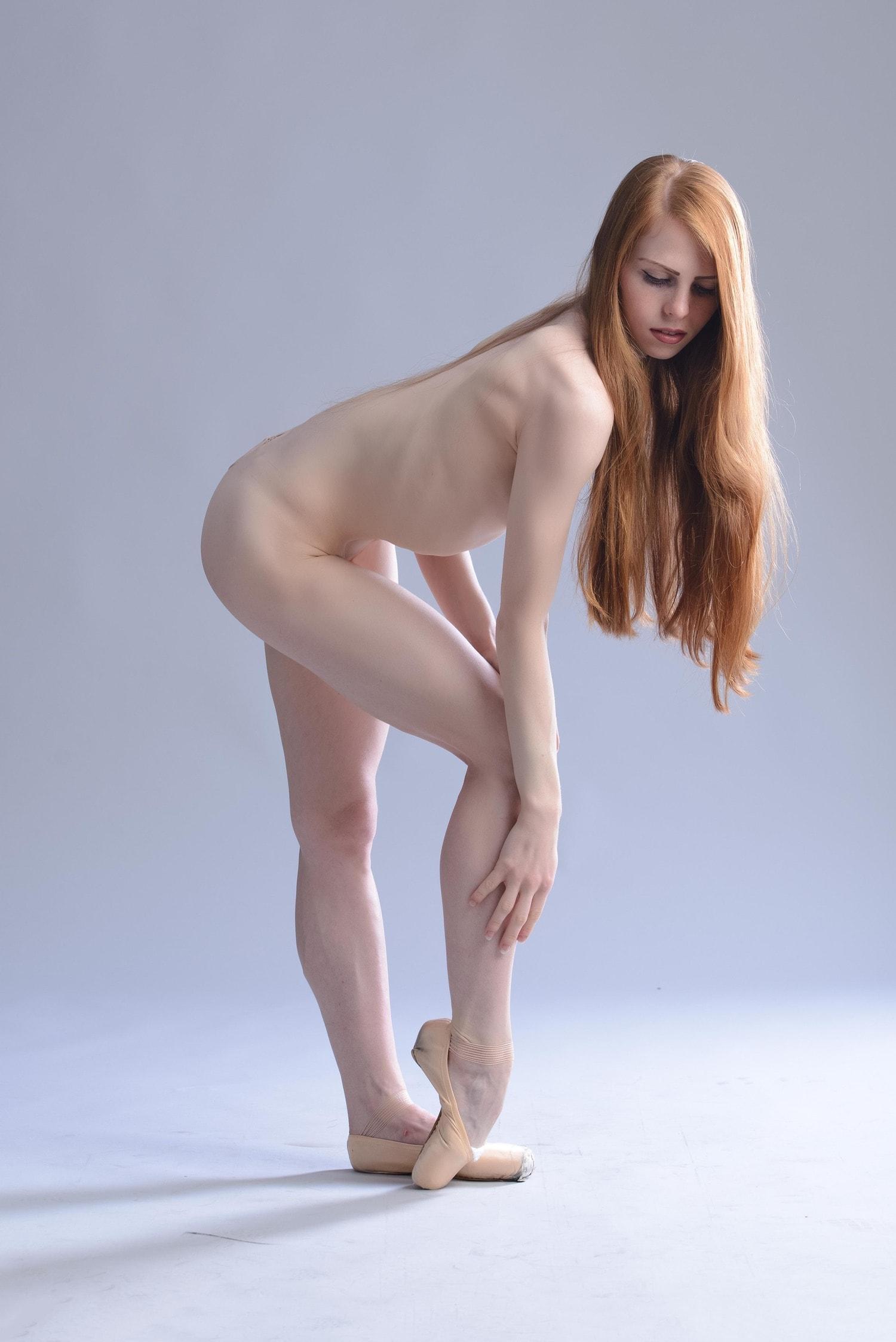 fotografía bailarina desnuda