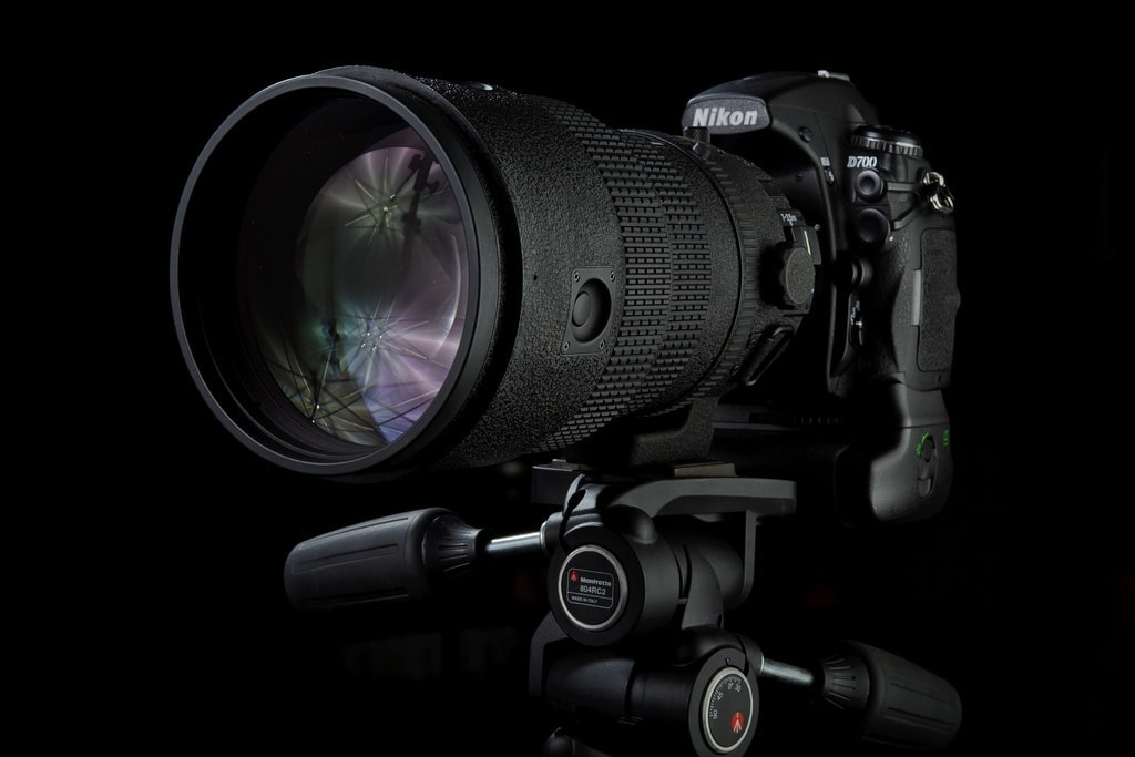 Nikon D700 con grip