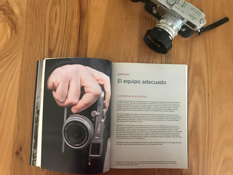 Equipo libro Fotografía urbana
