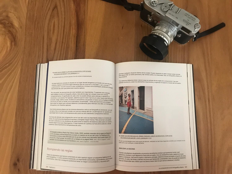 Reglas libro Fotografía urbana