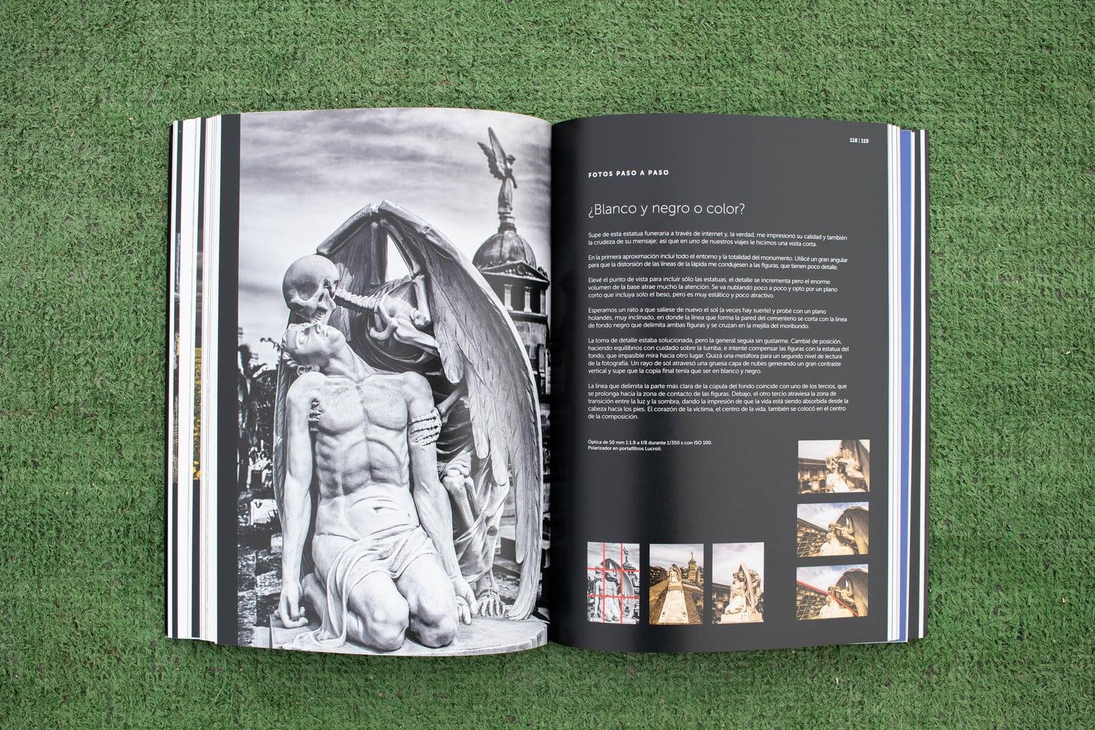 Blanco y negro Libro El Arte de la Composición