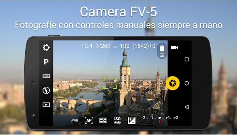 App móvil Camera FV-5