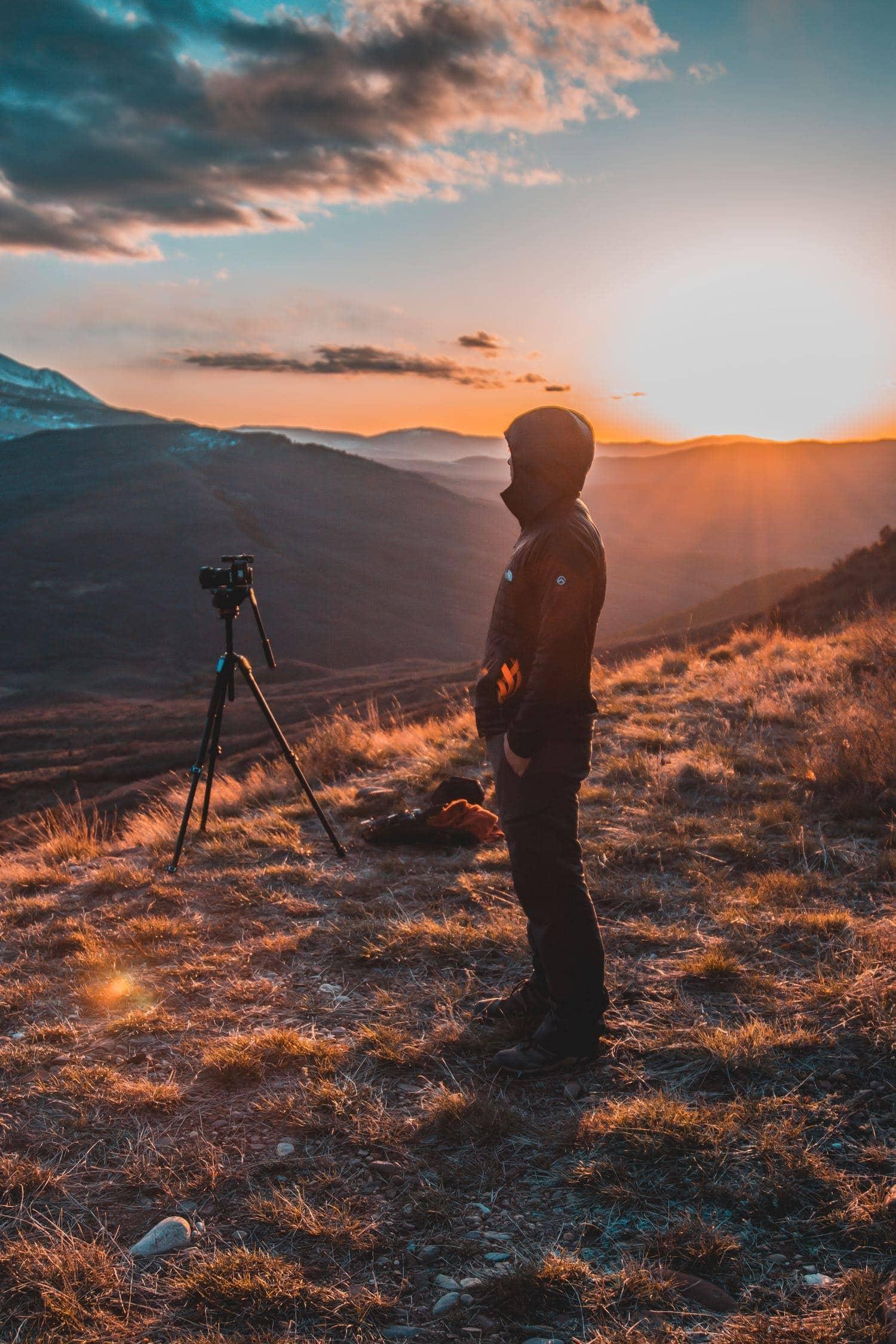 fotografía paisaje atardecer fotógrafo