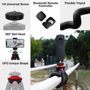 Componentes Fotopro trípode flexible