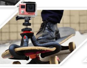 GOPRO Fotopro trípode flexible montado