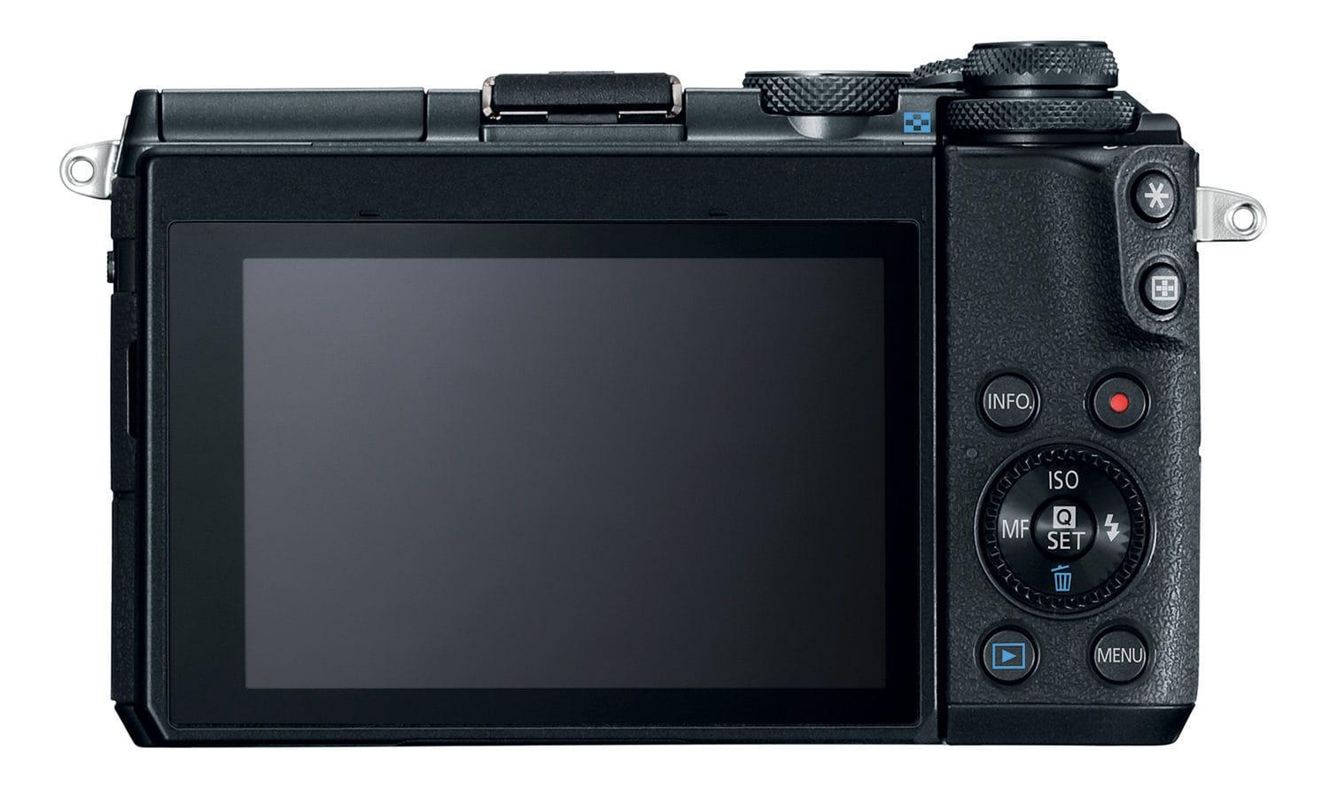 Pantalla Cámara EVIL Canon EOS M6