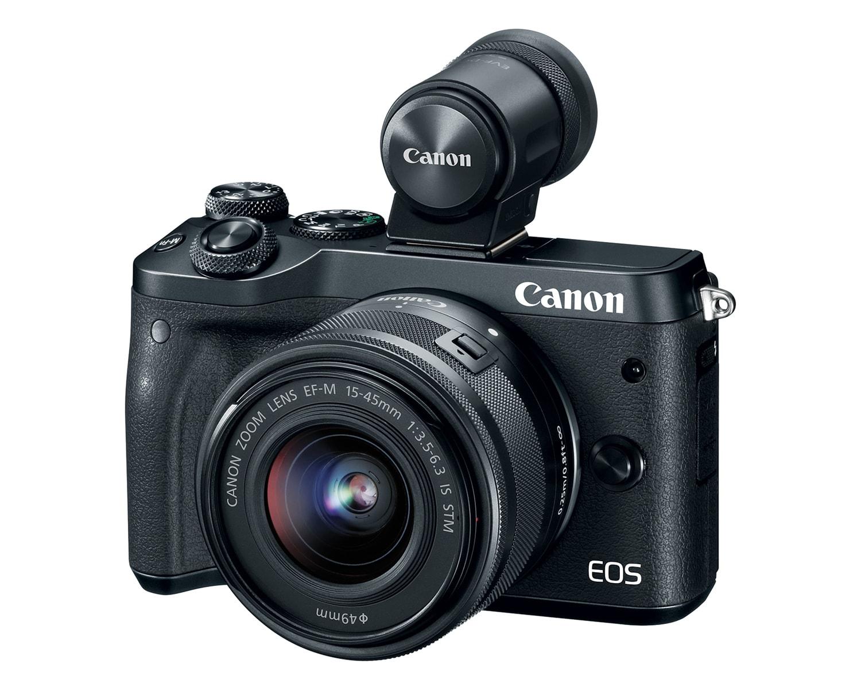 Cámara EVIL Canon EOS M6 con visor