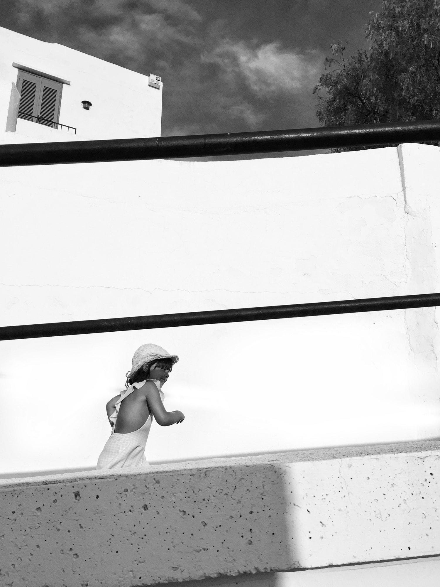 fotografía niña corriendo formato 4:3