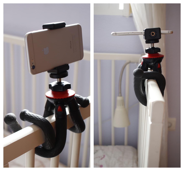 Posiciones Fotopro trípode flexible