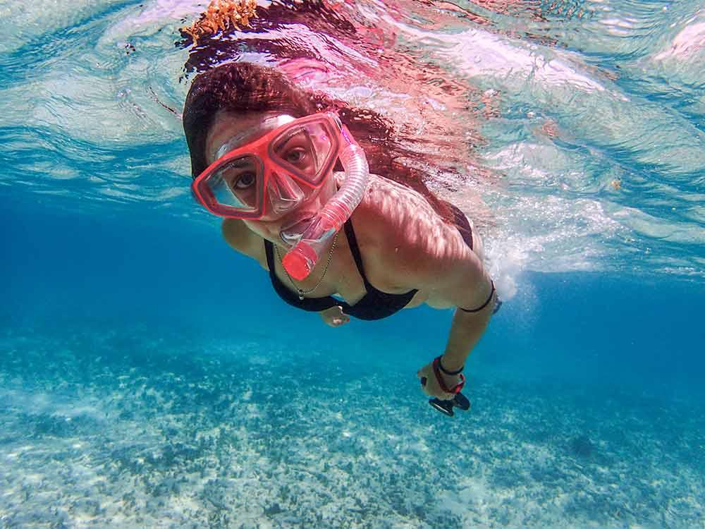 Fotografía submarina en snorkel