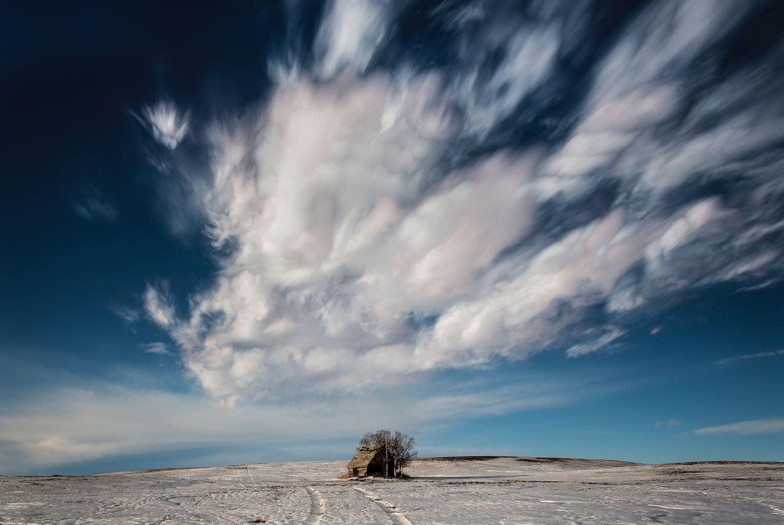 fotografía paisajes casa solitaria