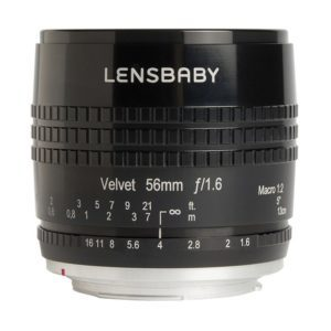 objetivo Lensbaby Velvet 56