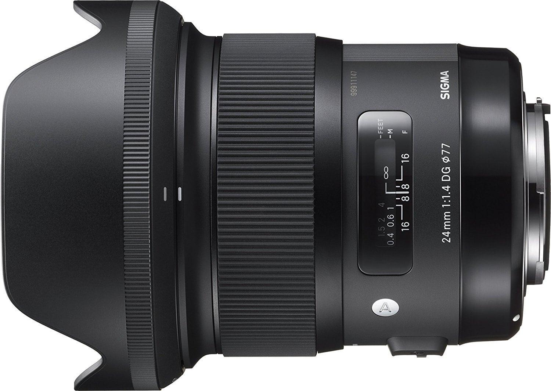 Objetivo Sigma 24mm f/1.4 entero