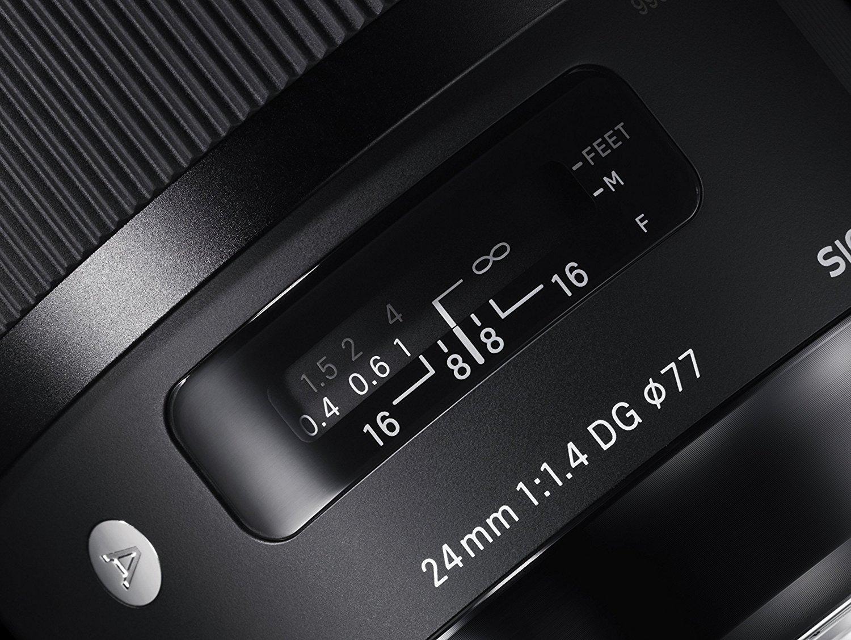 Objetivo Sigma 24mm f/1.4