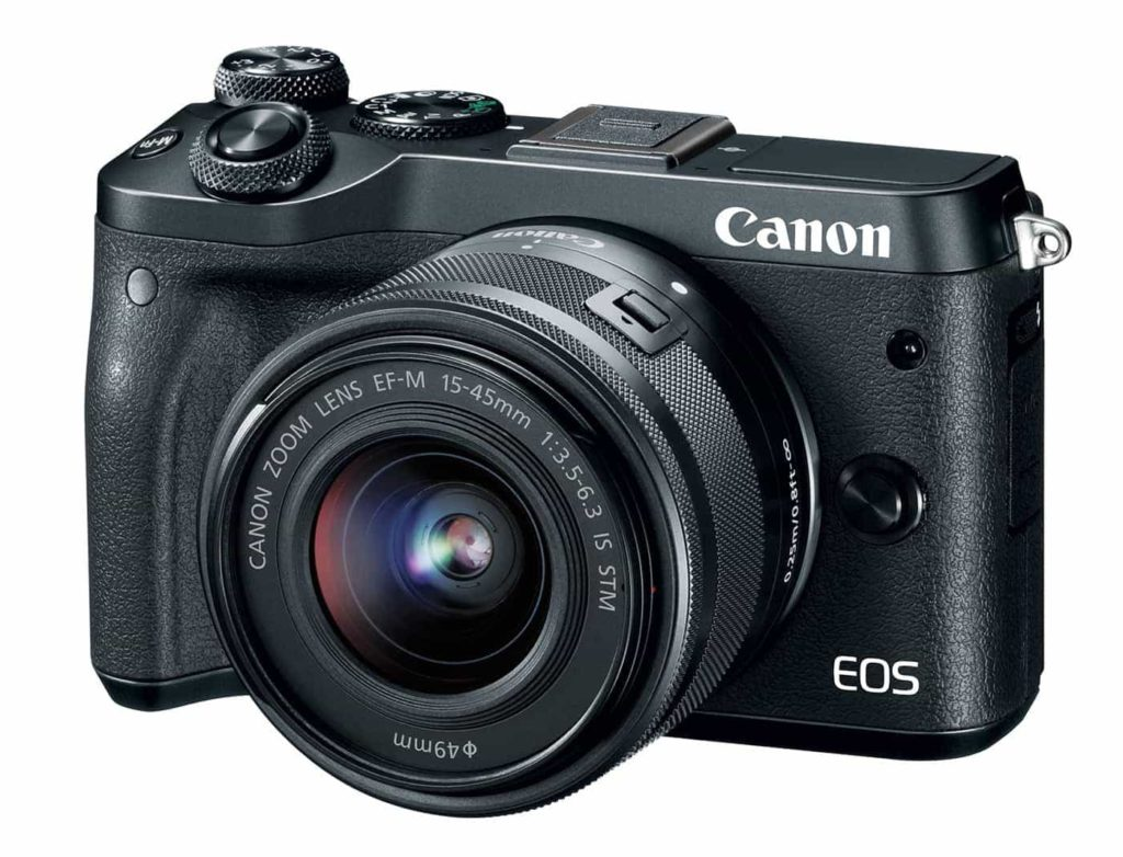 Cámara EVIL Canon EOS M6