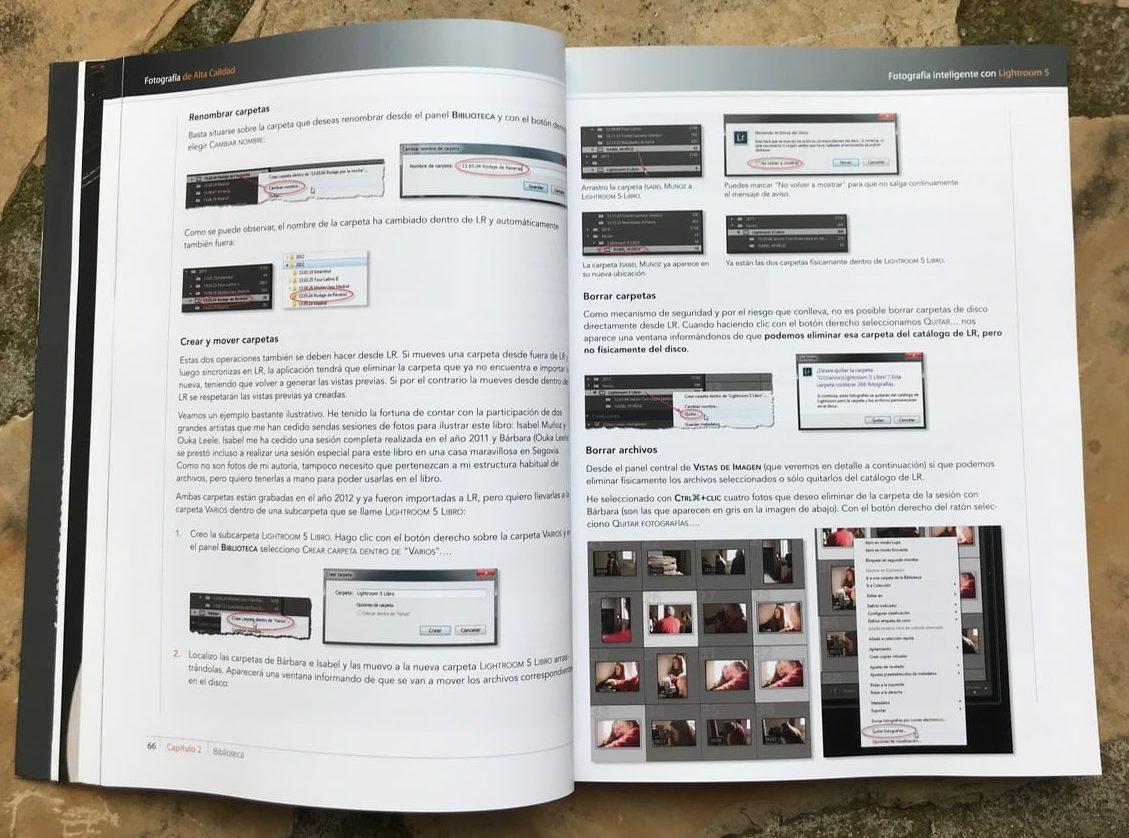 Carpetas Libro Fotografía Inteligente con Lightroom 5