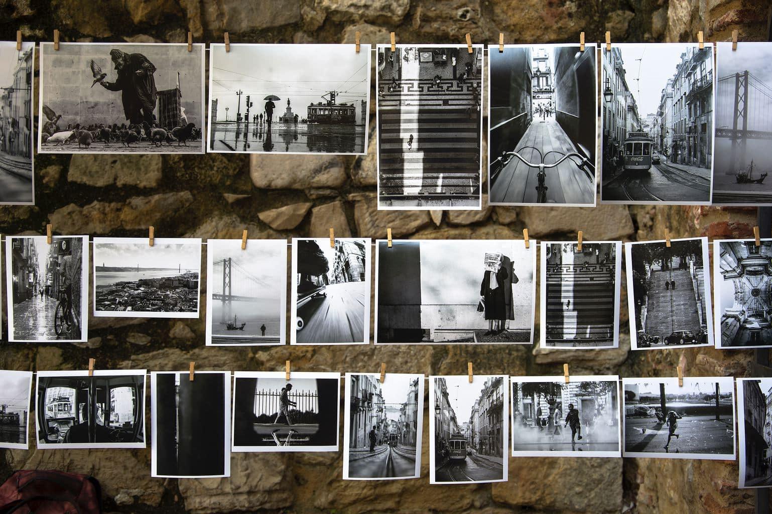 fotografías impresas en papel