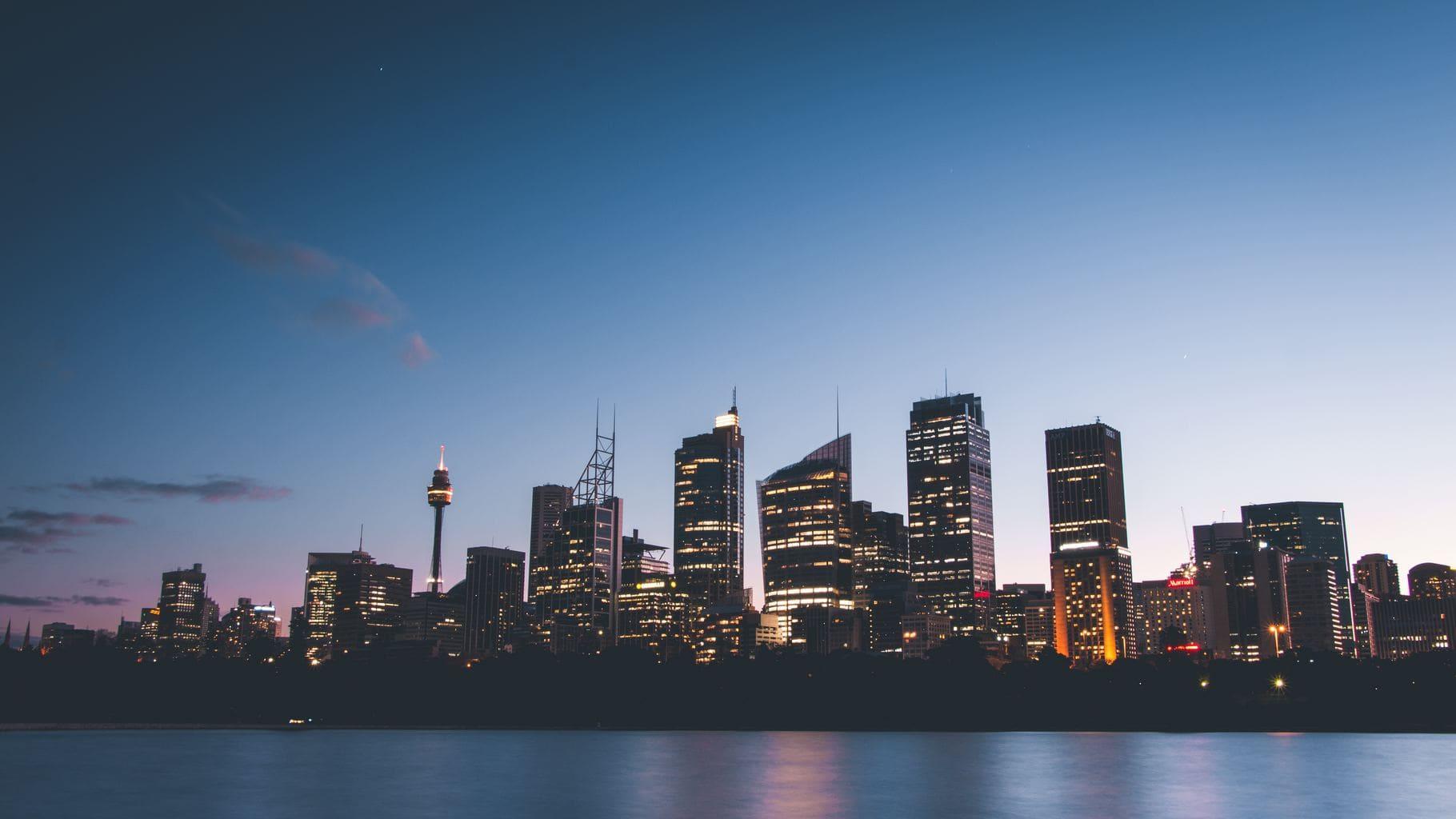 fotografía nocturna Skyline