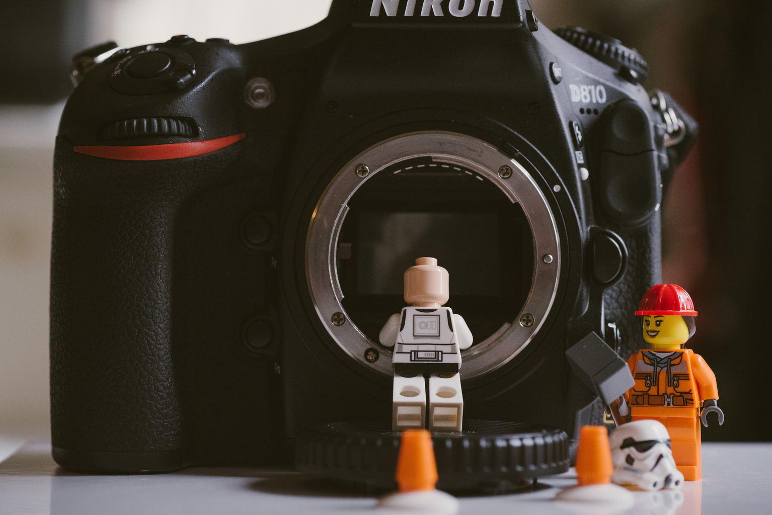 Cámara Réflex Nikon D810