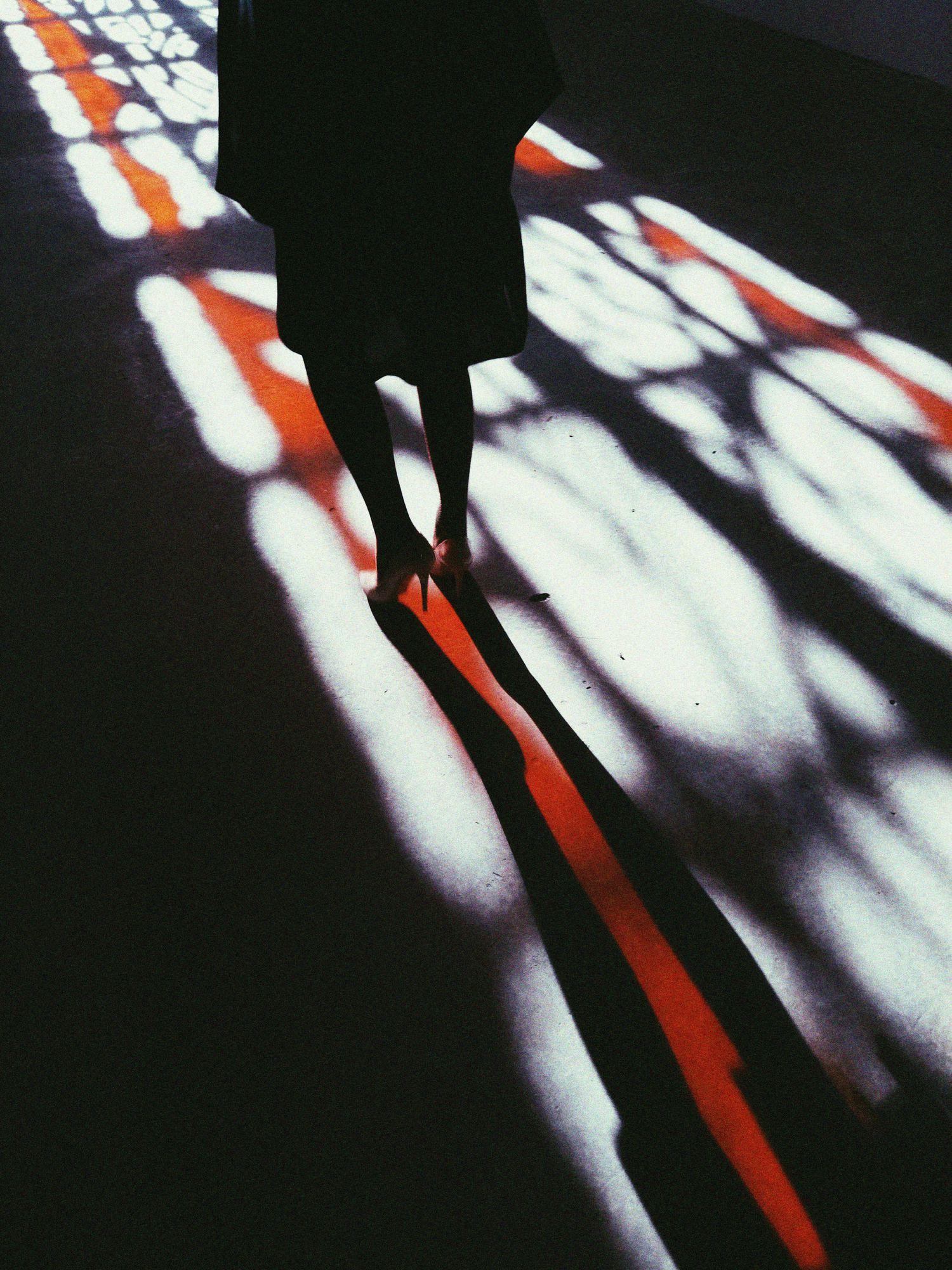 fotografía mujer con tacones
