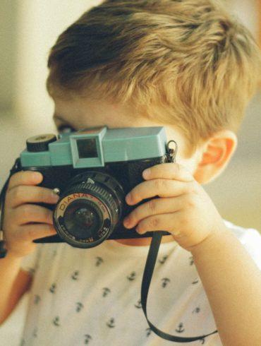 niño fotógrafo