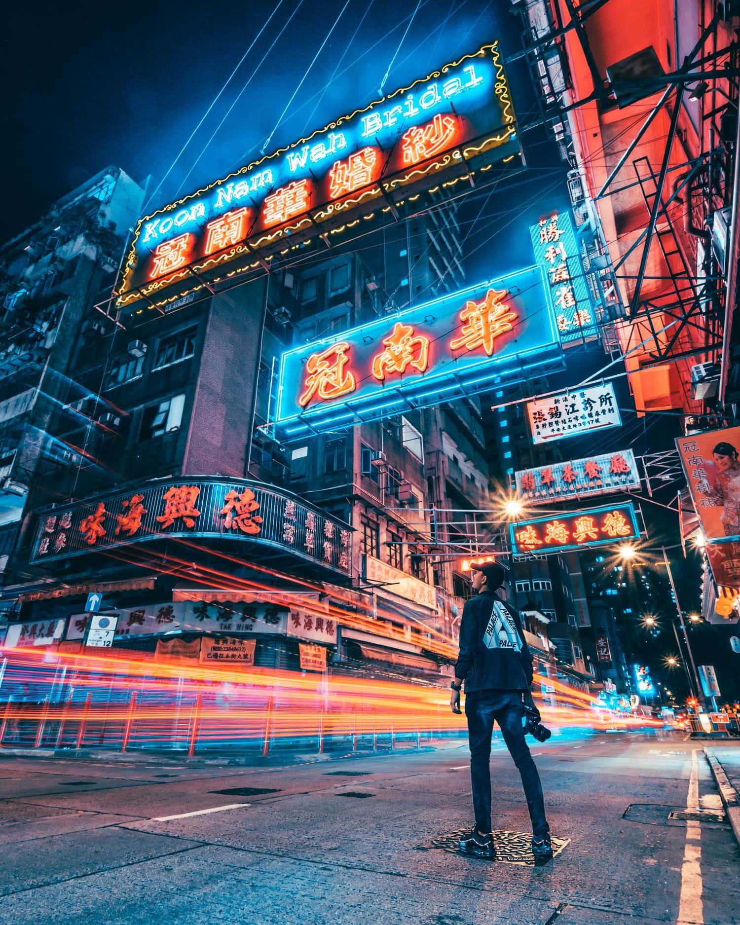 urbana de noche