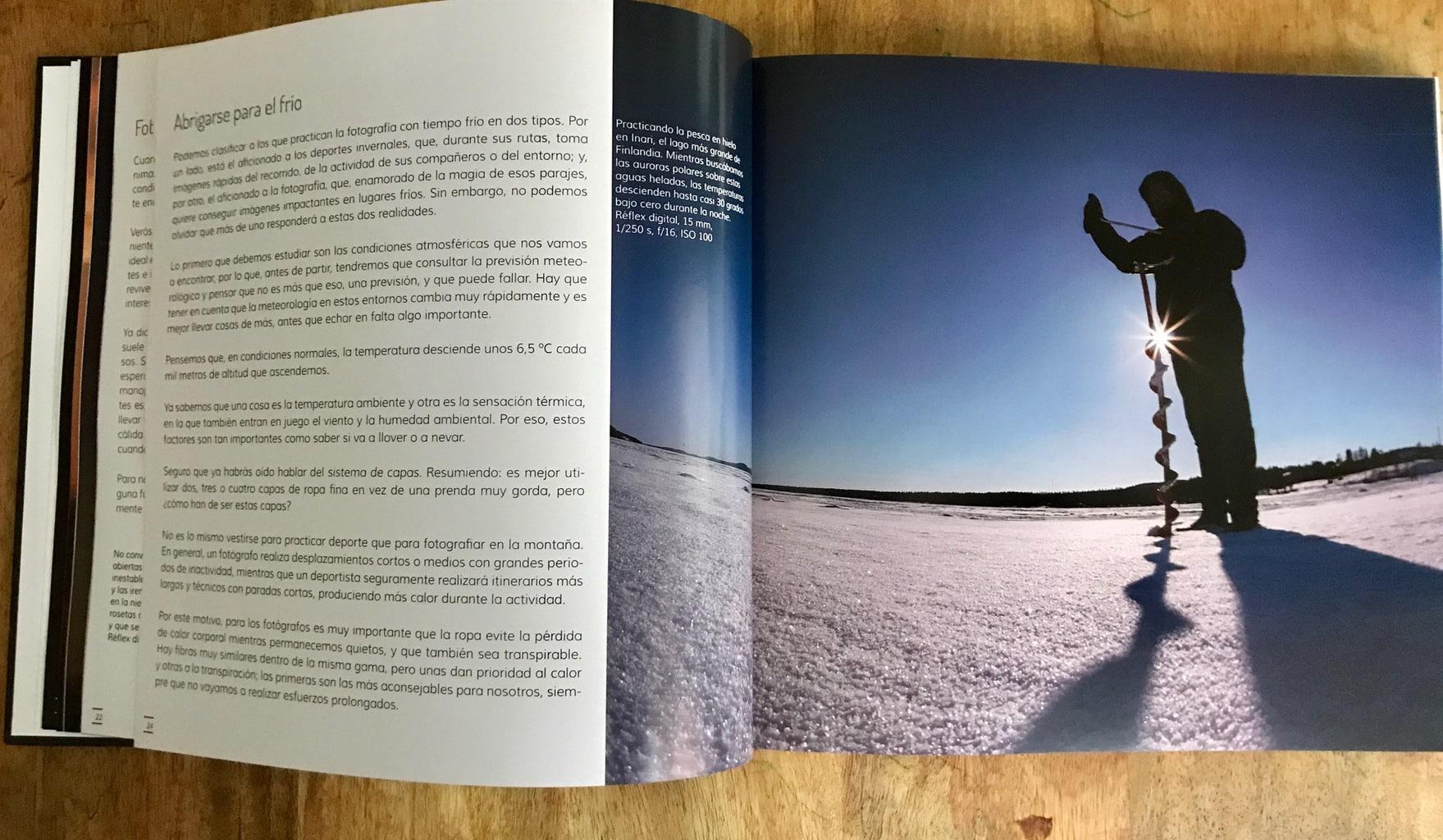 Frío Libro Fotografiar Con Mal Tiempo