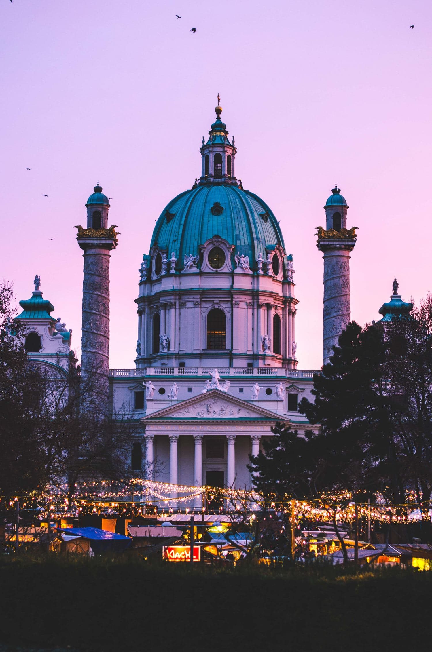 mercadillo navideño Viena