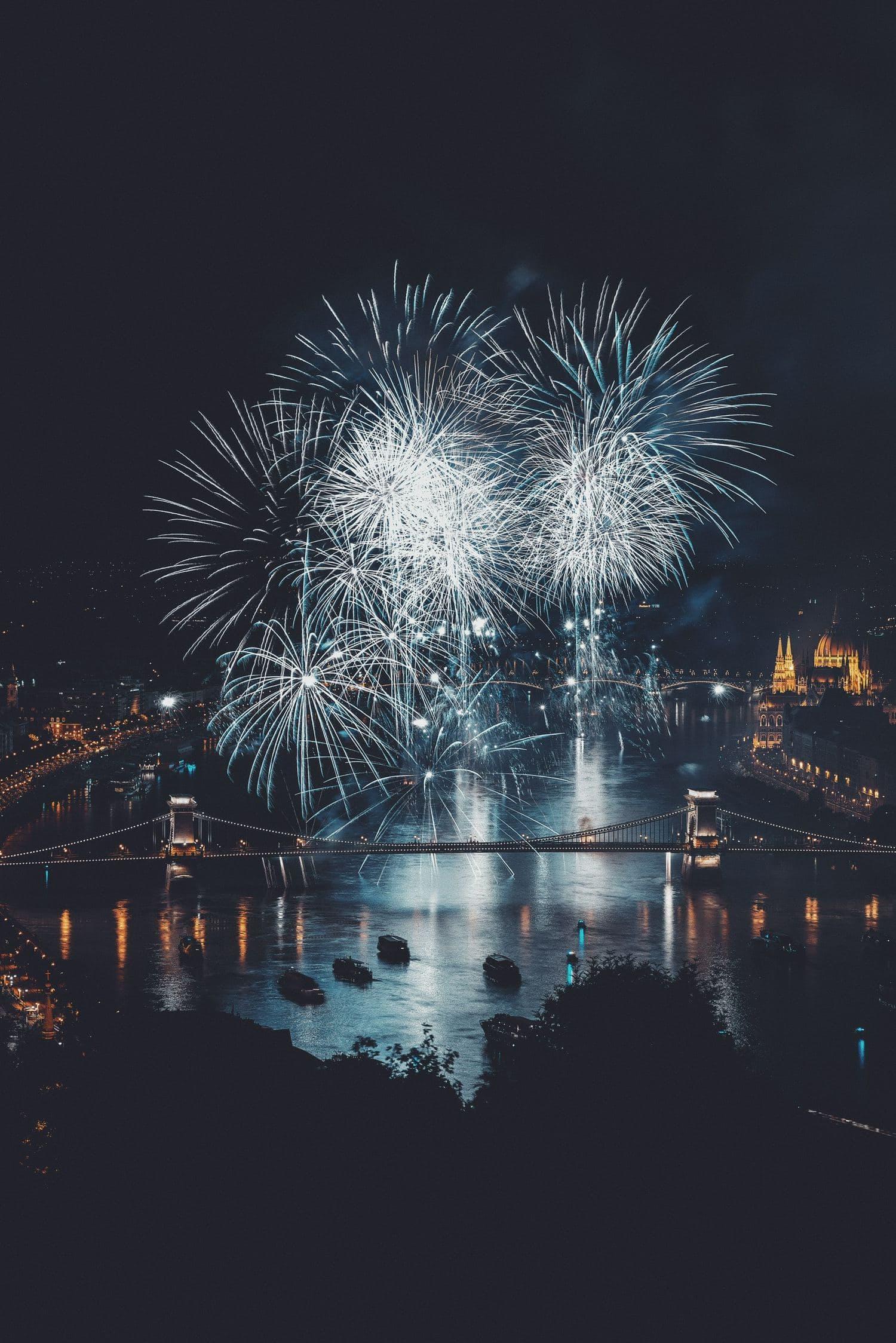 Fuegos artificiales Budapest