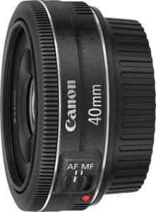 Objetivo Pancake Canon 40mm