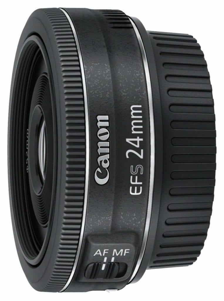 Objetivo Canon 24mm montura EF-S