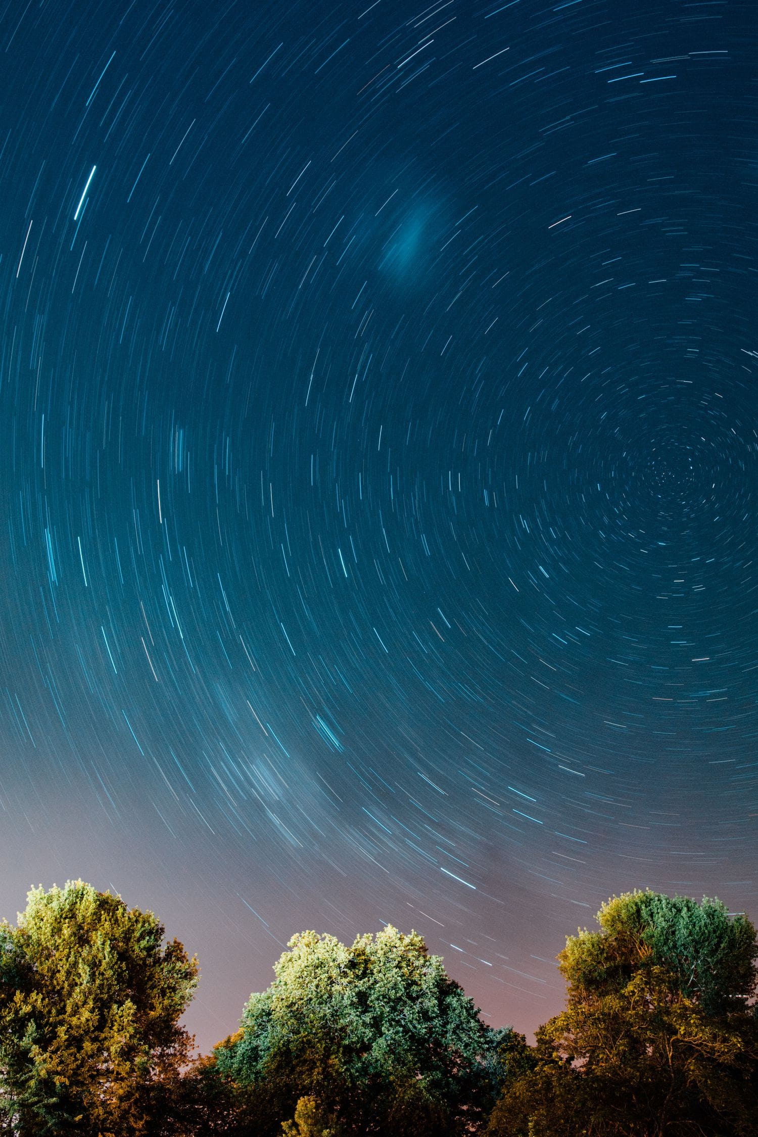 estrellas larga exposición