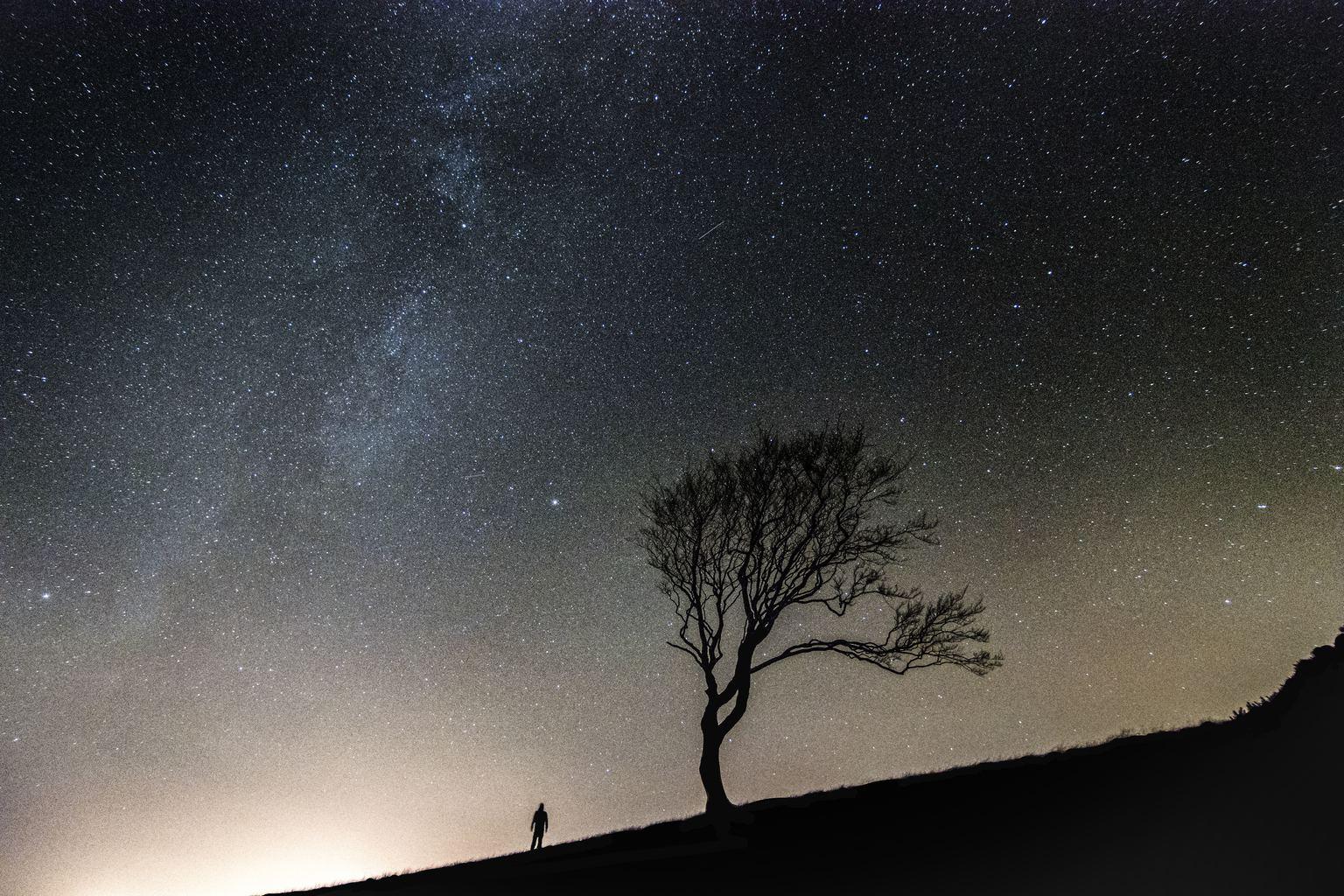 Vía Láctea noche