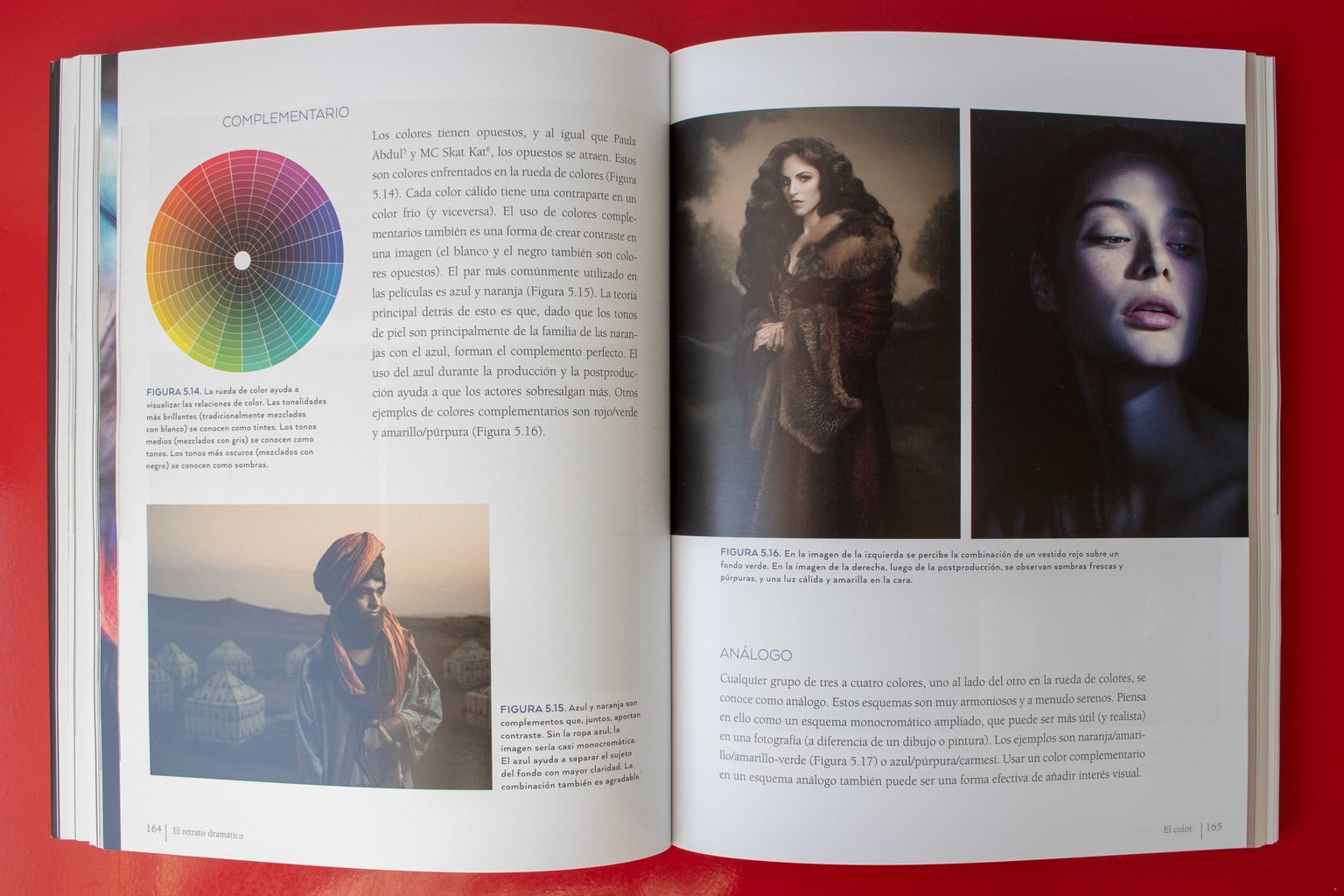 foto repetida en el libro retrato dramático