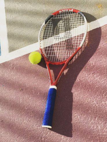 raqueta pelota