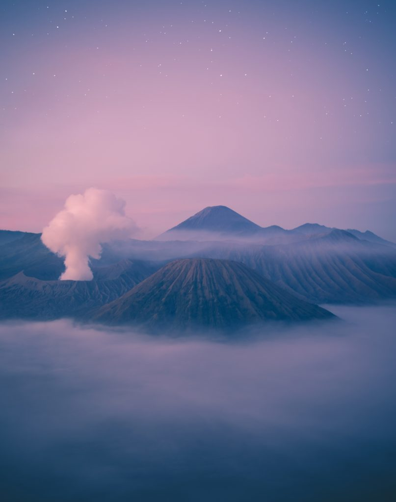 volcán paisaje
