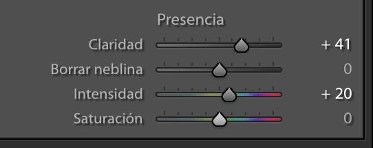 captura pantalla ajustes de presencia