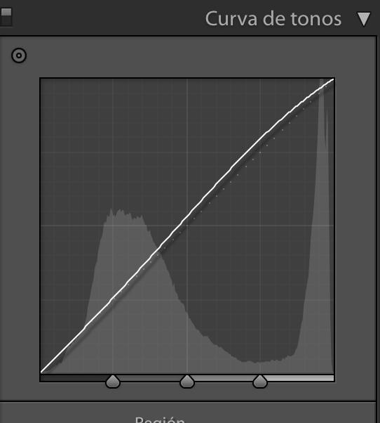 captura pantalla curva de tonos