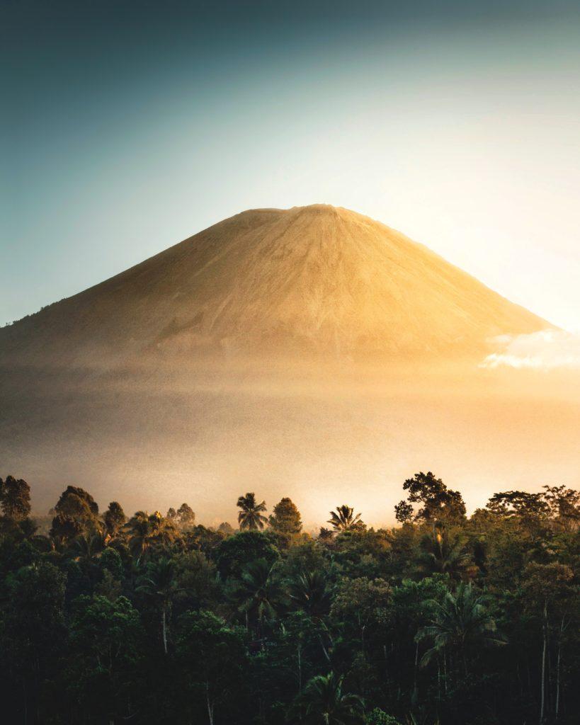 paisaje volcán