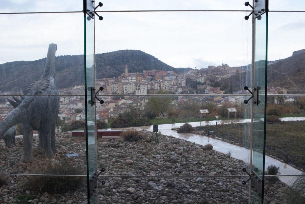 vistas de Cuenca desde museo de dinosaurios