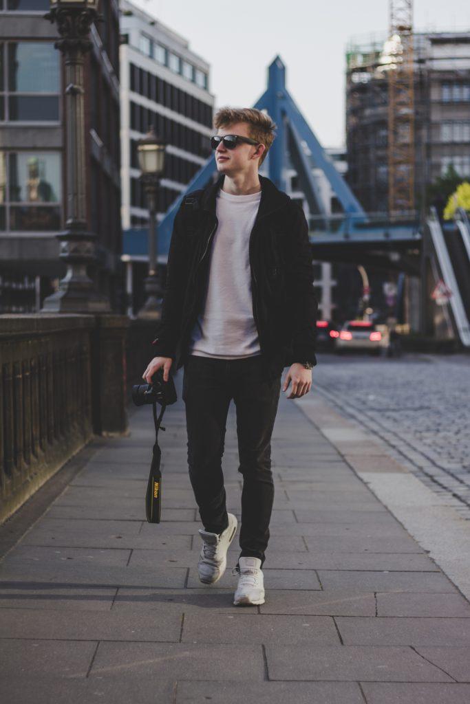Calzado cómodo para la fotografía de calle