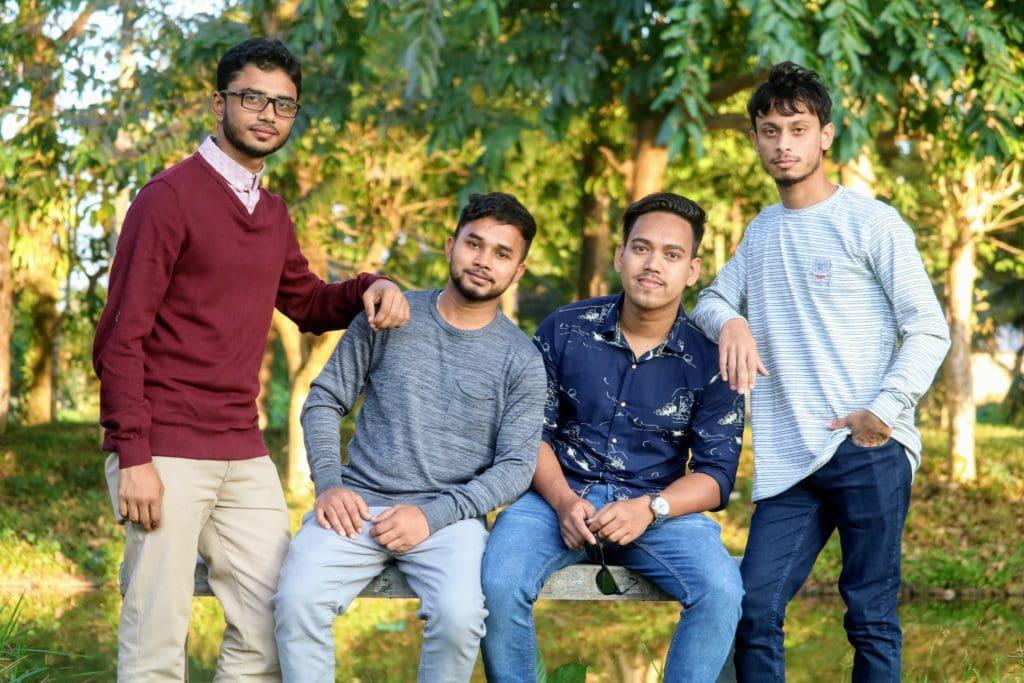 retrato grupo familia
