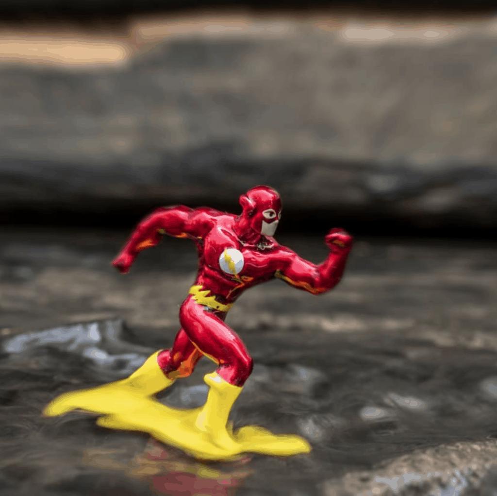 Muñeco súper héroe