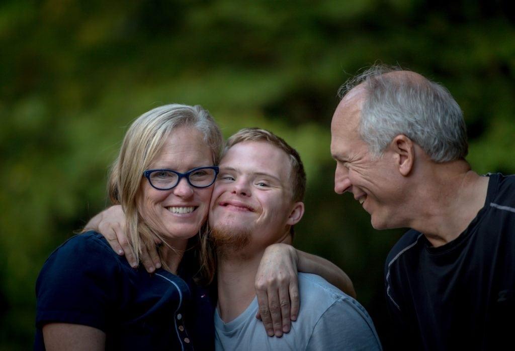 familia amor abrazo