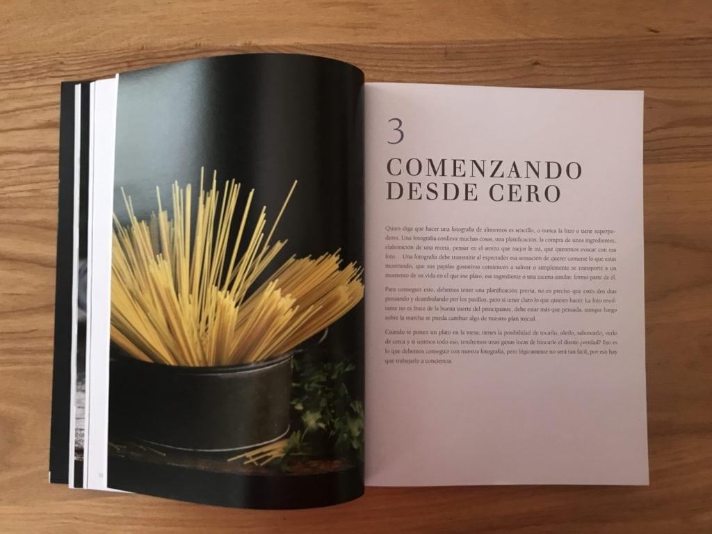 Portada del capítulo 3 del libro foodie