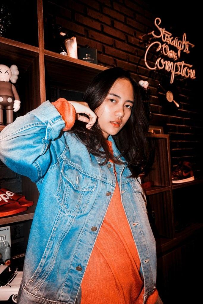 retrato flash chica