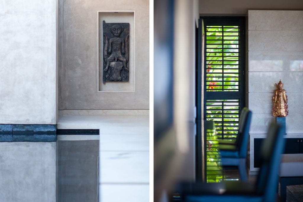 Detalles en arquitectura de interiores