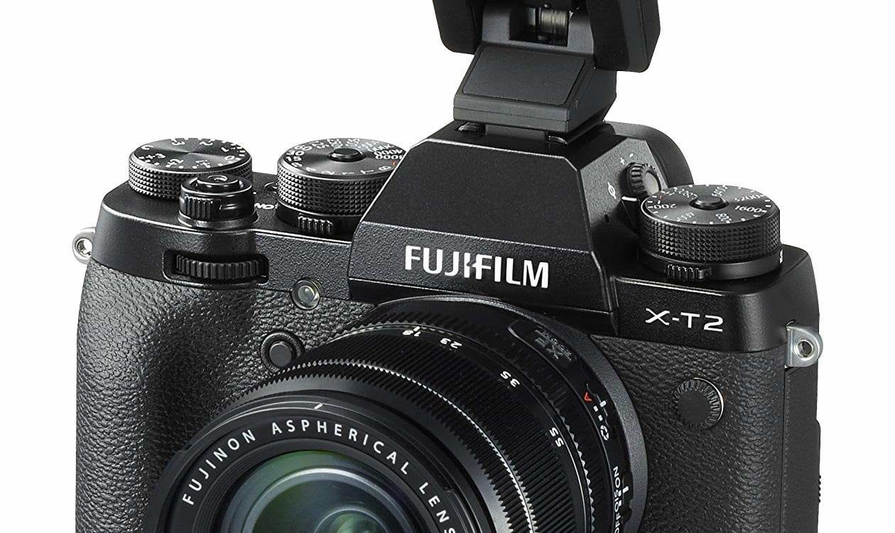 fujifilm x-T2 con flash