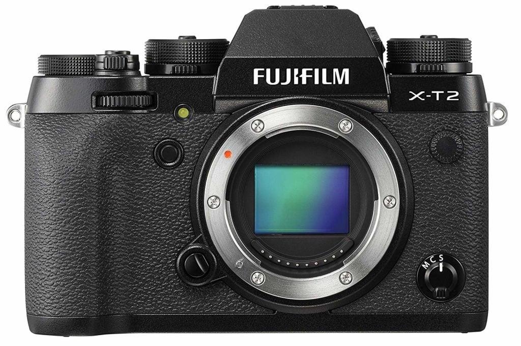 Cámara Fujifilm X-T2 sin objetivo