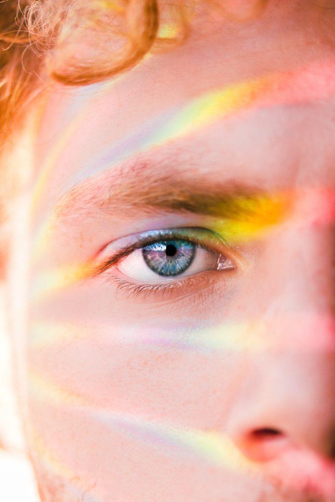 ojo retrato